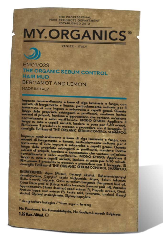 CUERO CABELLUDO - The Organic Sebum Control Hair Mud 40gr