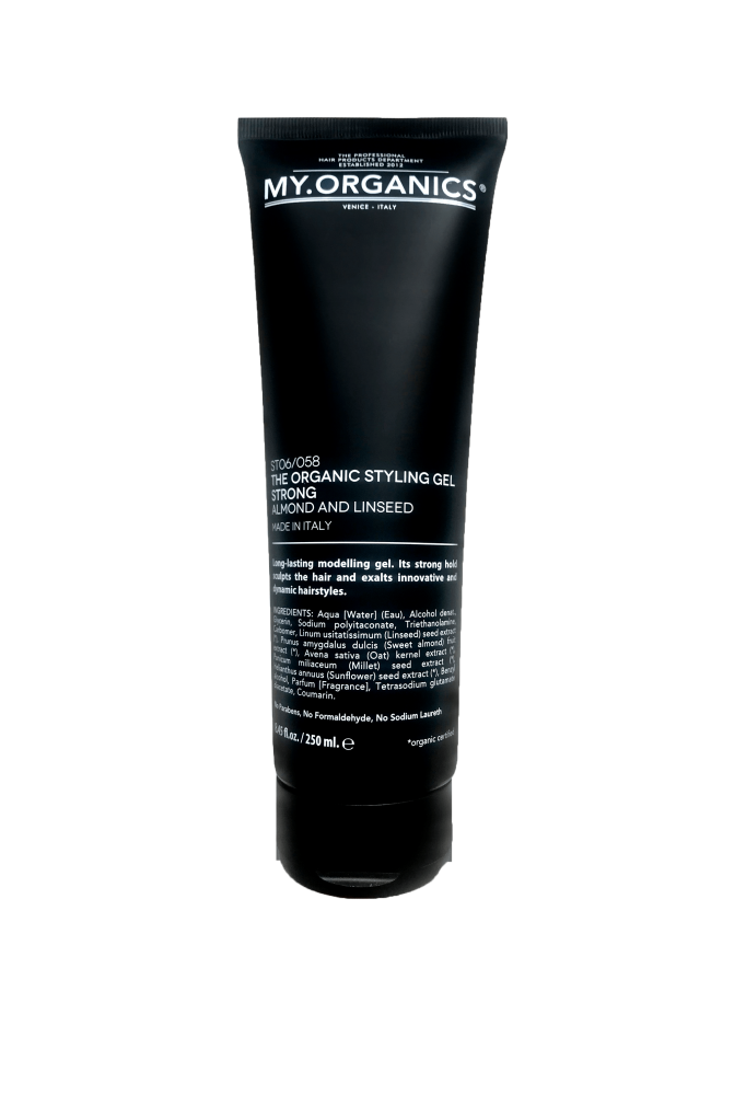 The Organic Styling Gel Strong 250ml