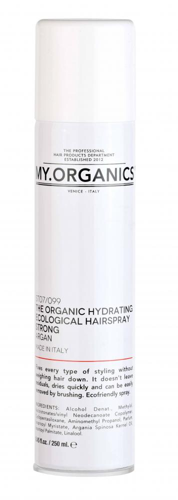 The Organic Hydrating Ecological Hairspray Strong 250ml