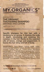 MUESTRAS - Bustina The Organic Thickening Shampoo 7ml