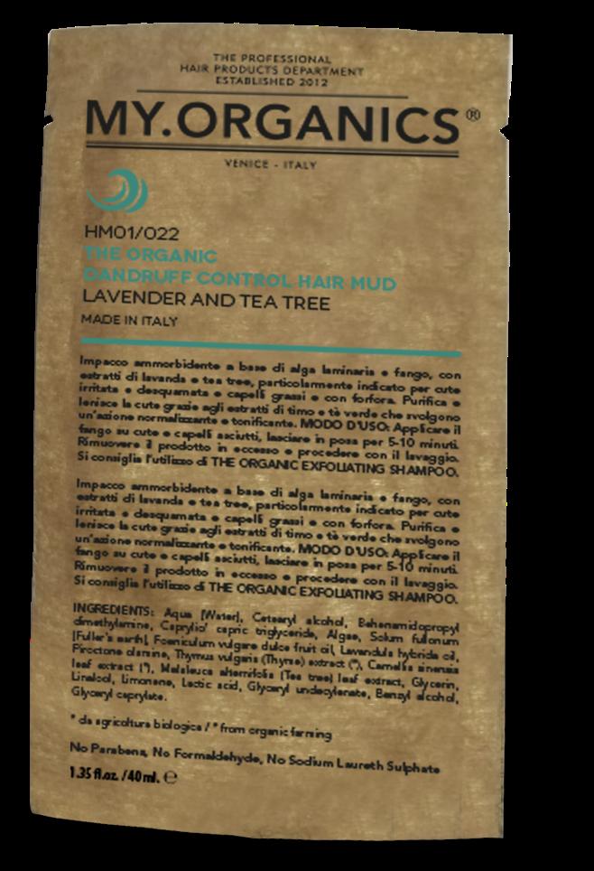 CUERO CABELLUDO - The Organic Dandruff Control Hair Mud  40gr