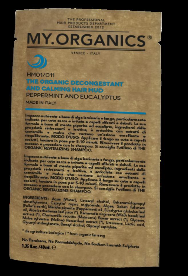 CUERO CABELLUDO - The Organic Decongestant and Calming Hair Mud 40gr