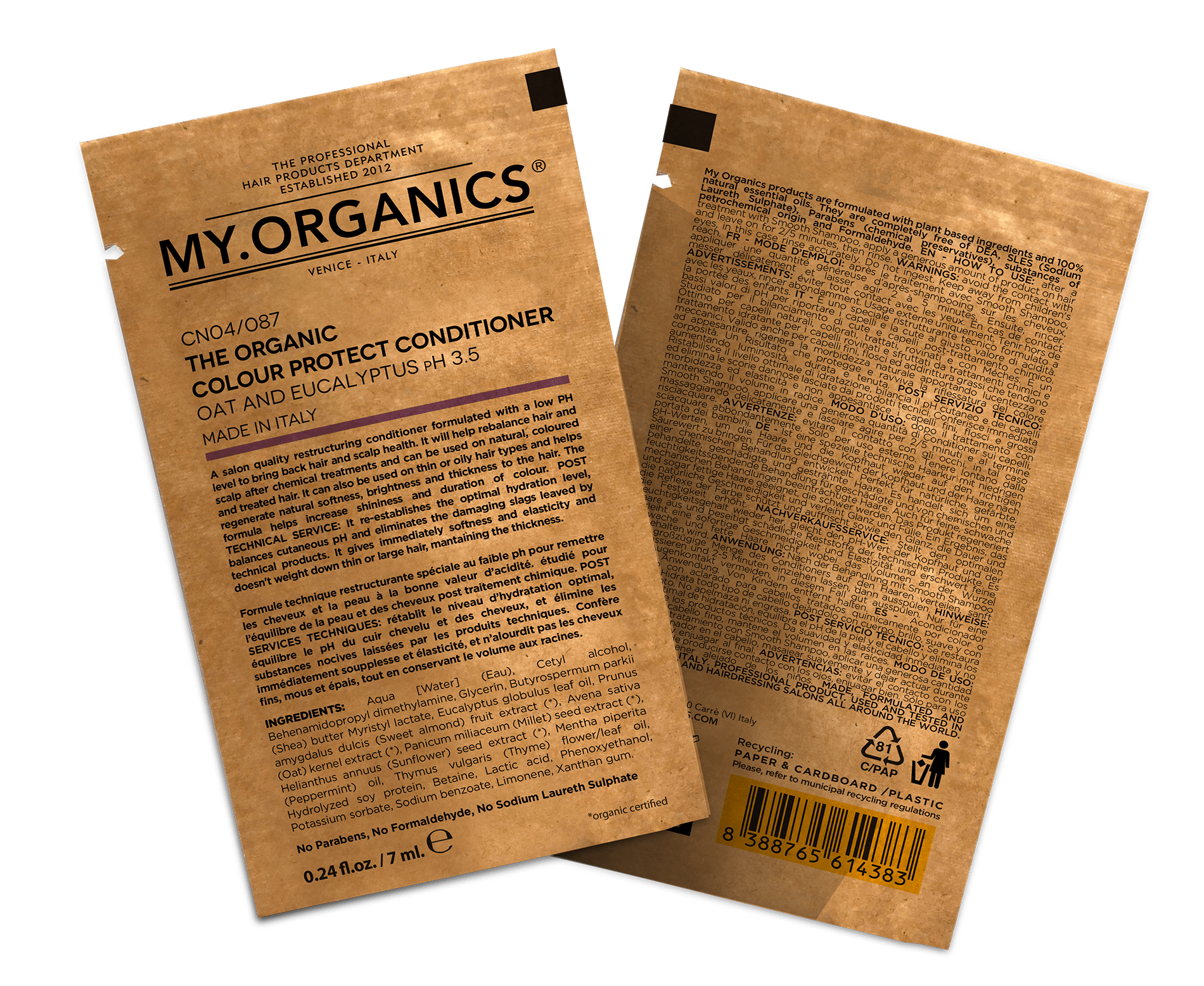 Bustina The Organic Colour Protect Conditioner-min