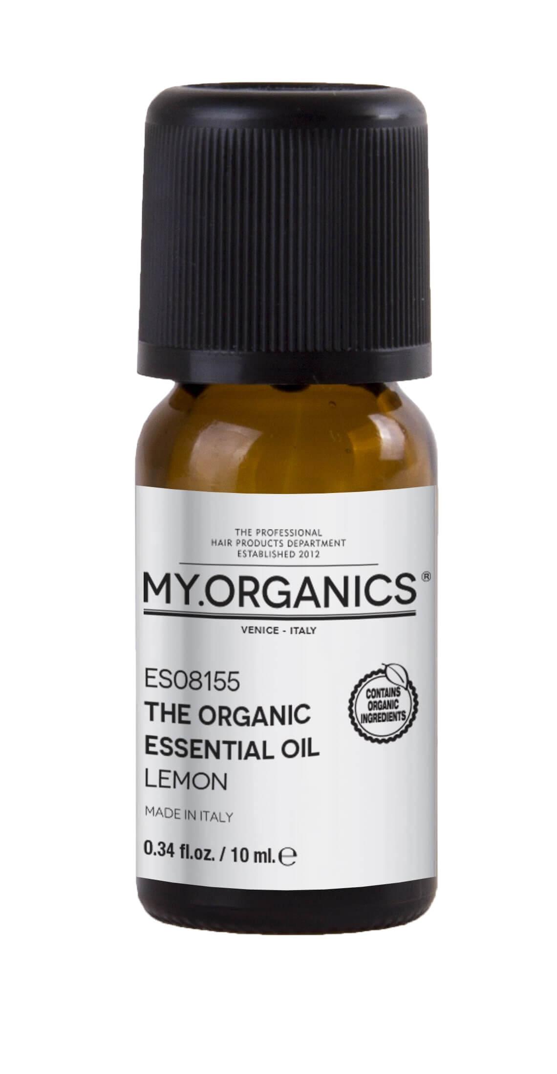 The Organic Essential Oil Lemon 10ml